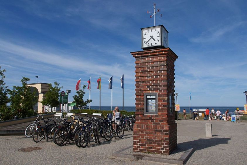 Bansin, historische Uhr